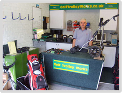 Golf Trolley Repairs in Reading, Berkshire and West Sussex