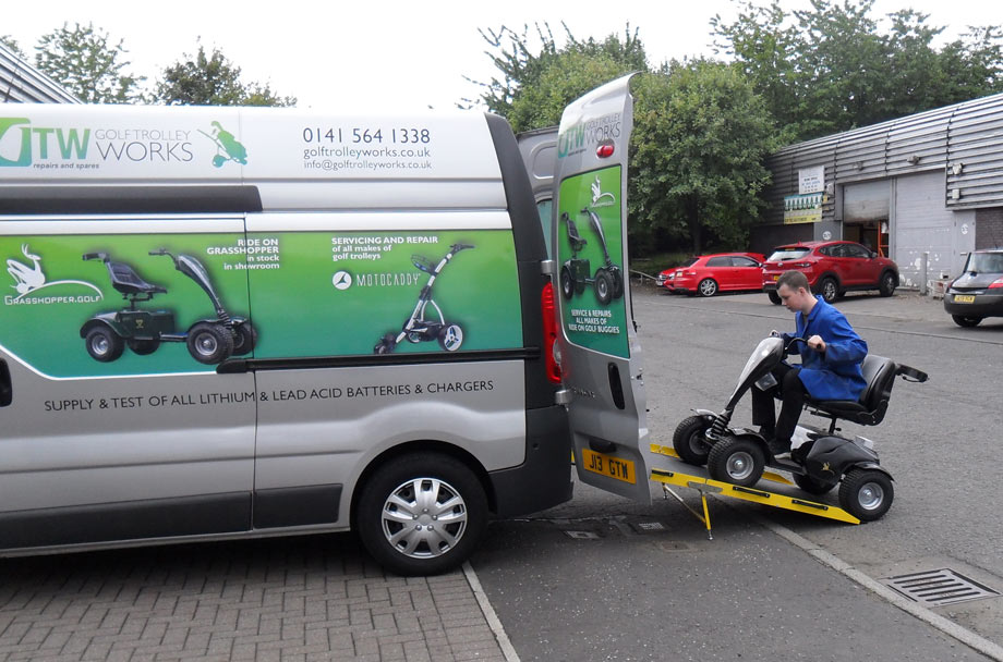 Ride On Golf Buggies Repairs and Spares Glasgow
