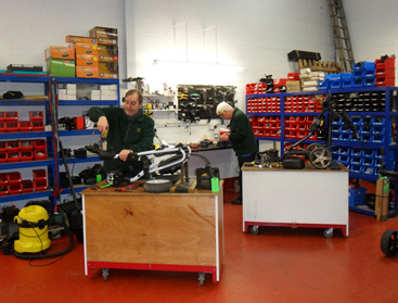 About Us - Golf Trolley Works